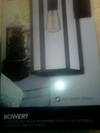 Globe® Bowery Outdoor Mount Set