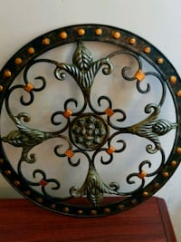 round black and brown steel wall decor Humboldt, 38343