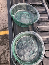 two clear glass bowl and bowl 307 mi