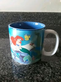Vintage The Little Mermaid Coffee Mug Rockville