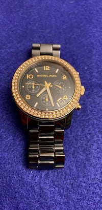 michael kors ceramic. diamond quartz watch REVERE