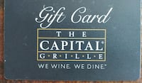 Gift Card, The Capital Grille, worth $100 Frederick