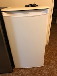 white and gray top-mount refrigerator Kingston