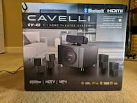 Cavelli Bluetooth Home Theatre Speakers Dumfries, 22025