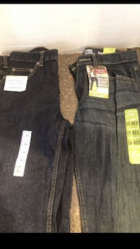 Lot of 2 pair of boys blue jeans size 16 Brand New $6 for both Manassas