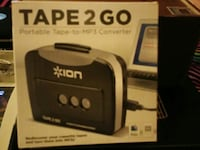 black Tape 2 go portable tape-to-mp3 converter box Watertown, 37184