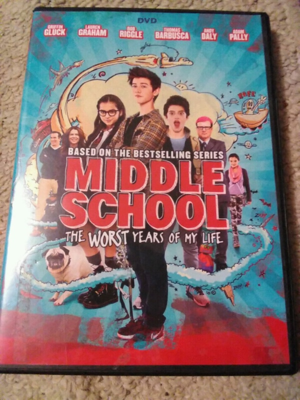 Middle School; Worst Years Of My Life DVD