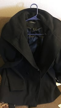 Women's black calvin klein peacoat size M never been worn Stockton, 95207