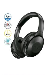 Bluetooth Headphones Over Ear with 40H Playtime, Quick Charge Wireless Fairfax, 22031
