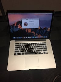 "Apple MacBook Pro 15"" (mid 2015) 2.2 GHz i7, 16GB, 250GB SSD Austin"