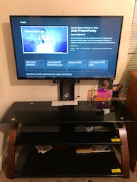 "Vizio 40"" LED smart tv and metro flat panel tv stand  Irving, 75061"
