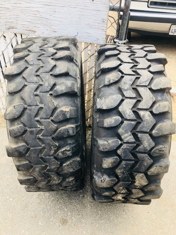 Used 2 Used Super Swamper Tires 33x12 50r15 Lt For Sale In Banning