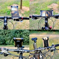Bicycle/Motorcycle phone holder.