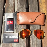Rayban sunglasses model Aviator - Limited time sale - 100% authentic and new Montreal, H2T 1W1