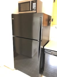 Whirlpool Stainless steel top mount refrigerator Mc Lean, 22101