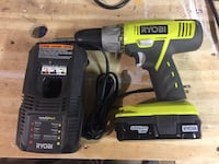 Ryobi cordless drill with battery and charger Westerville, 43081