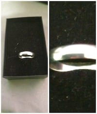 Sterling silver plain size 8 new London, N6J 2V8
