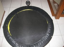 Fitness Trampoline With Monitor