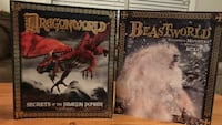 two Dragon World and Beast World books Gainesville, 20155