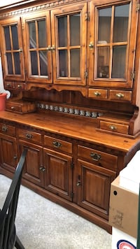 brown wooden dresser with mirror Holbrook, 11741