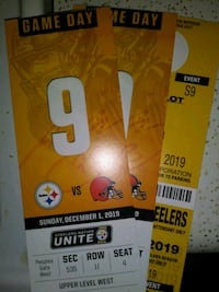 Steelers tickets prime parking