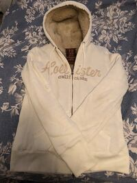 """Hollister """"Fur""""-Lined Hoodie. Great condition!"""