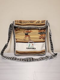 Two (2) Handmade, Woven Natural Fabric Shoulder Bags - Price is for both bags purchased together and is firm. Arlington, 22204