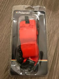 red and black flotation strap for camera Las Vegas, 89104