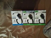 I have 2 Xbox one and one ps4 head set.