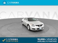 2013 Nissan Altima coupe 2.5 S Coupe 2D Silver Brentwood
