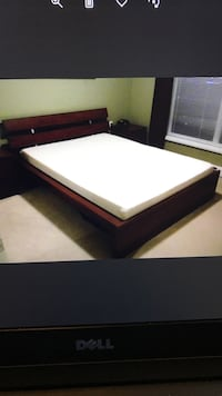Full IKEA Heavy Wood Frame Bed, will Deliver ! Washington