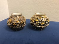 H. Karshi sterling silver 925 candle holder pair Toronto, M2R 3N1