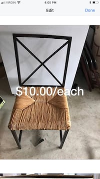 IKEA chairs 3 available hardly used Brampton, L6V