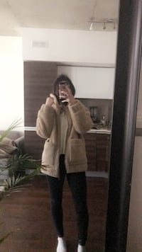 SM brand new teddy bear coat Toronto