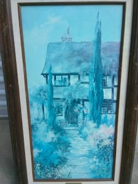 RARE MARTY BELL PAINTING - SHERE VILLAGE ANTIQUES  Farmersville, 93223