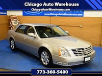 2006 Cadillac DTS - 140k Miles   Automatic, Navigation, Bluetooth, leather, heated seats and steering wheel, alloy wheels, ice cold A/C, xenon lights, Clean Carfax, clean title, just serviced, new brakes, new radiator, fresh tune up and fresh detail Chicago, 60641
