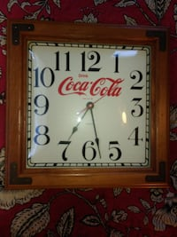 Coca Cola Antique Clock Enid, 73701
