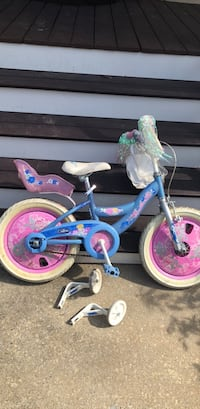 toddler's blue and pink bicycle Silver Spring, 20905