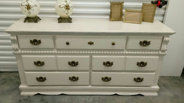 daffb90fad800b Used Solid Wood Dresser  entry way table for sale in Baton Rouge - letgo
