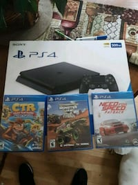 Ps4 brand new never been open. With 3 games   Columbus, 43207