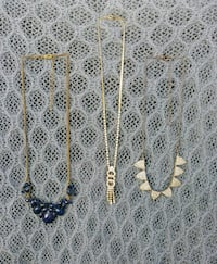 Lot of 3 Gold Necklaces Las Vegas