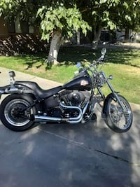2001 Harley Davidson Softail Night Train 17000 mil Lancaster