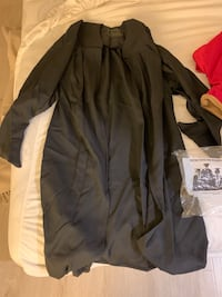 Graduation gown and hood
