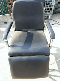 black and gray leather padded armchair Fresno, 93702