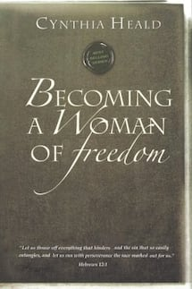 """Book """"Becoming a Woman of Freedom"""" by Cynthia Heald"""
