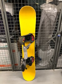 Snowboard 145cm with Solomon binding
