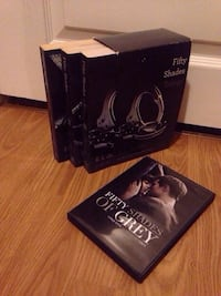 50 Shades Trilogy And DVD  3149 km