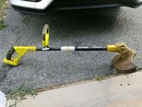 Ryobi trimmer/edger with 2 batteries & charger  Owings Mills, 21117