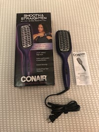 CONAIR STRAIGHTENING BRUSH Toronto, M6N 3W7