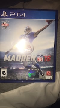 EA Sports Madden NFL 16 Sony PS4 game case Hudson Falls, 12839